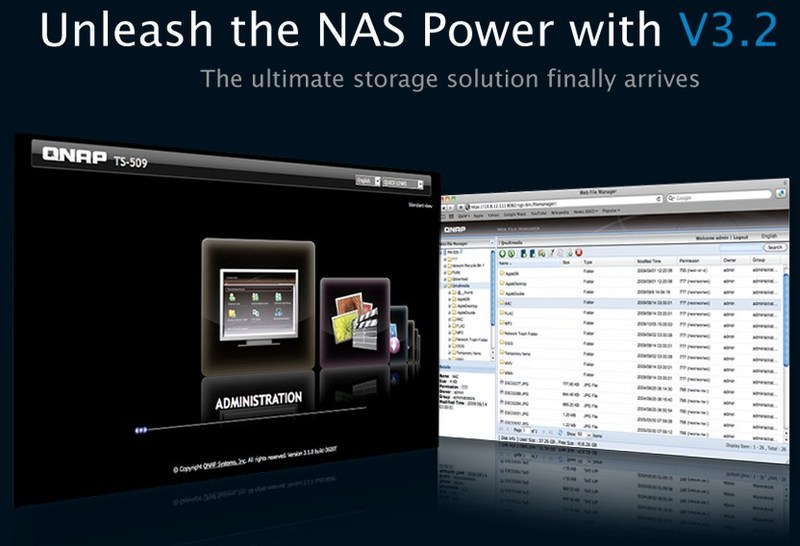 qnap expands capabilities of its turbo nas servers with upgraded nas software techpowerup forums. Black Bedroom Furniture Sets. Home Design Ideas