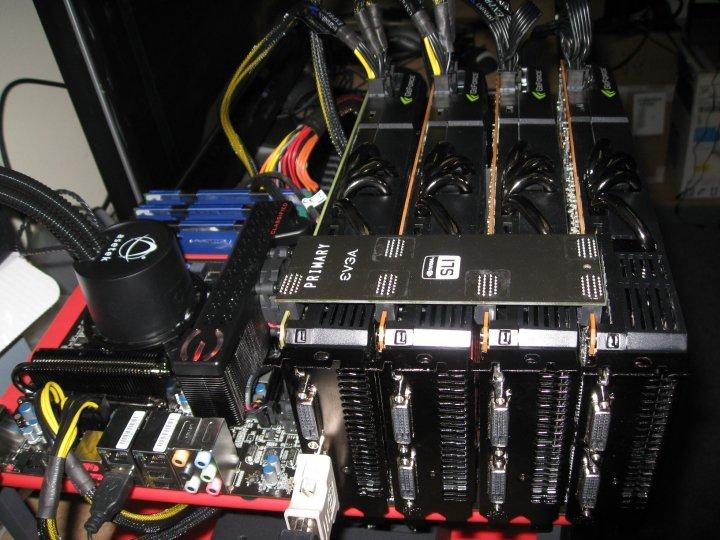 GeForce GTX 480 Supports 4 Way SLI