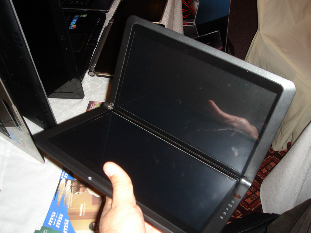 MSI Shows off New Tablet PCs