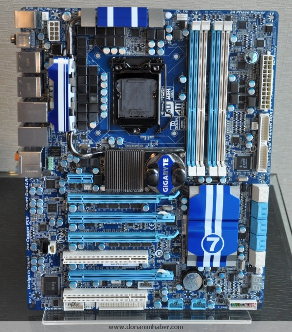 Gigabyte Displays GA-P67A-UD7 Socket LGA-1155 Motherboard | techPowerUp
