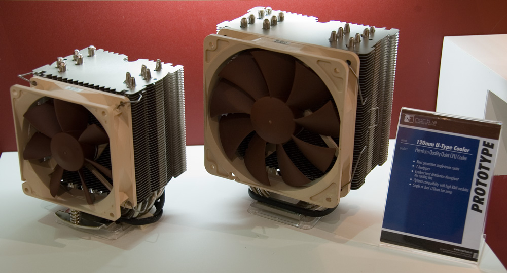 Noctua Unveils Wave of Upcoming and Prototype CPU Coolers at