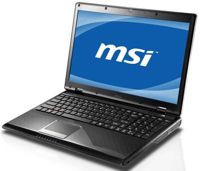 MSI CX420MX Notebook ATI Mobility Radeon HD 545v VGA 64 BIT