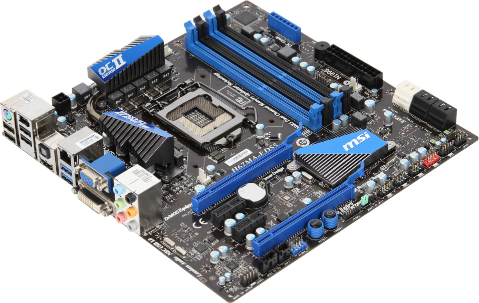 Msi Displays Its First Wave Of Lga1155 Motherboards