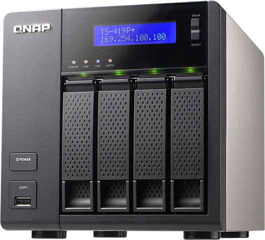 QNAP Debuts New TS-x19P+ Line-up of Affordable Turbo NAS for