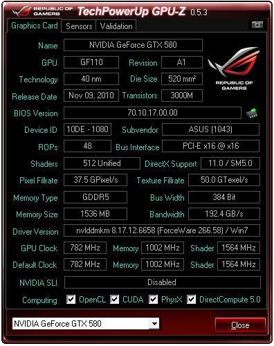 techpowerup gpu-z v0.6.6