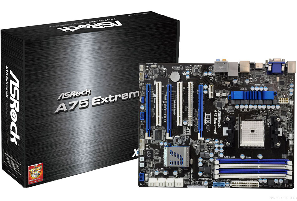 NEW DRIVERS: ASROCK A75 EXTREME6 AMD FUSION MEDIA