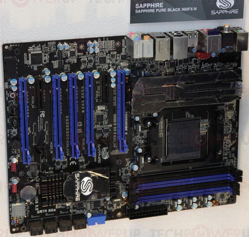 Sapphire PURE Black 990FX 64x