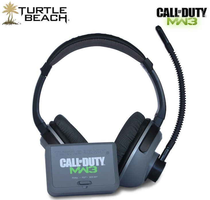 Turtle Beach to Release Limited Edition Call of Duty MW3 Co