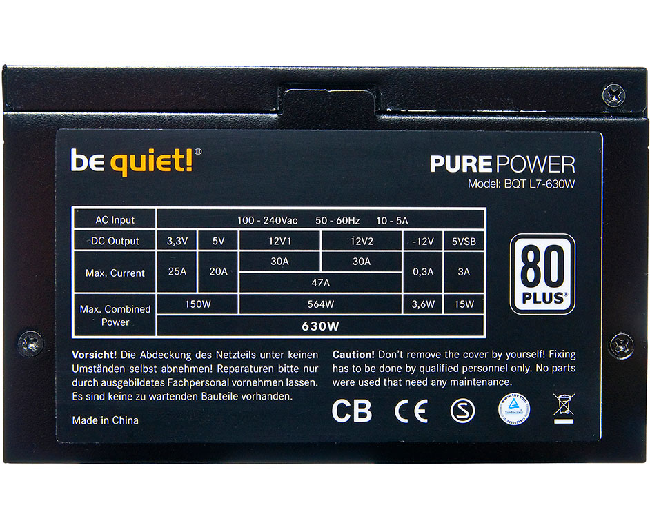 be quiet! releases new pure power l8 and l7 psus techpowerup forumsview at techpowerup main site