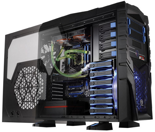 Thermaltake Introduces Chaser Mk I Lcs Case With Liquid