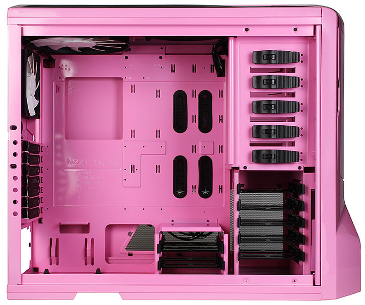 Nzxt Launches Phantom Big Tower Pink Edition Techpowerup