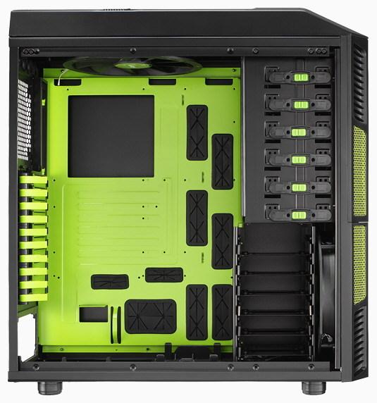 Aerocool Xpredator Evil Green Edition Full Tower Case