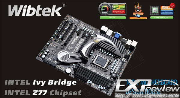 Wibtek Hacker Z77 Motherboard Pictured | TechPowerUp