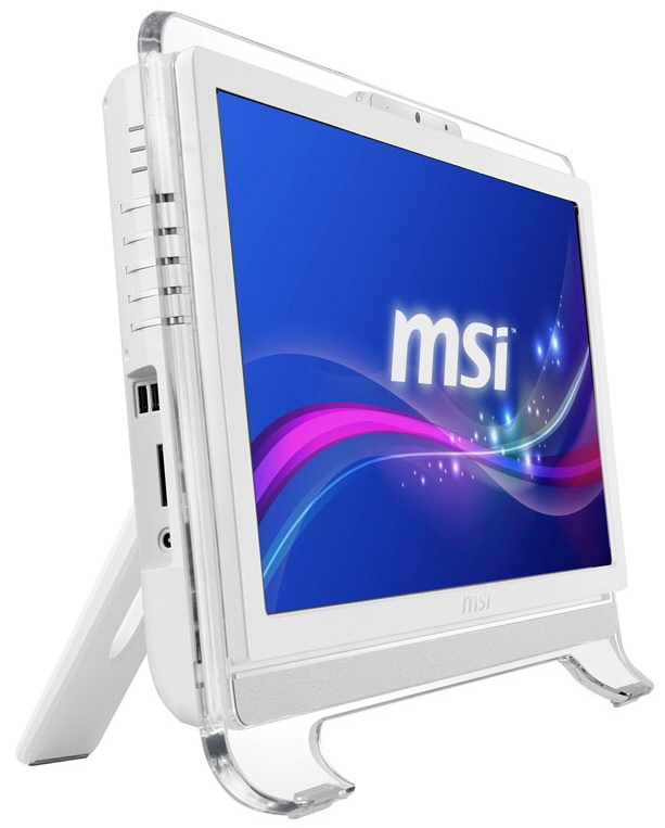 Msi Reveals The Wind Top Ae2071 20 Inch All In One Pc