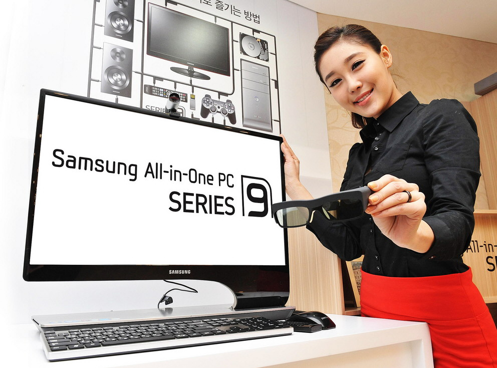 samsung debuts the series 9 3d all in one pc techpowerup forums. Black Bedroom Furniture Sets. Home Design Ideas