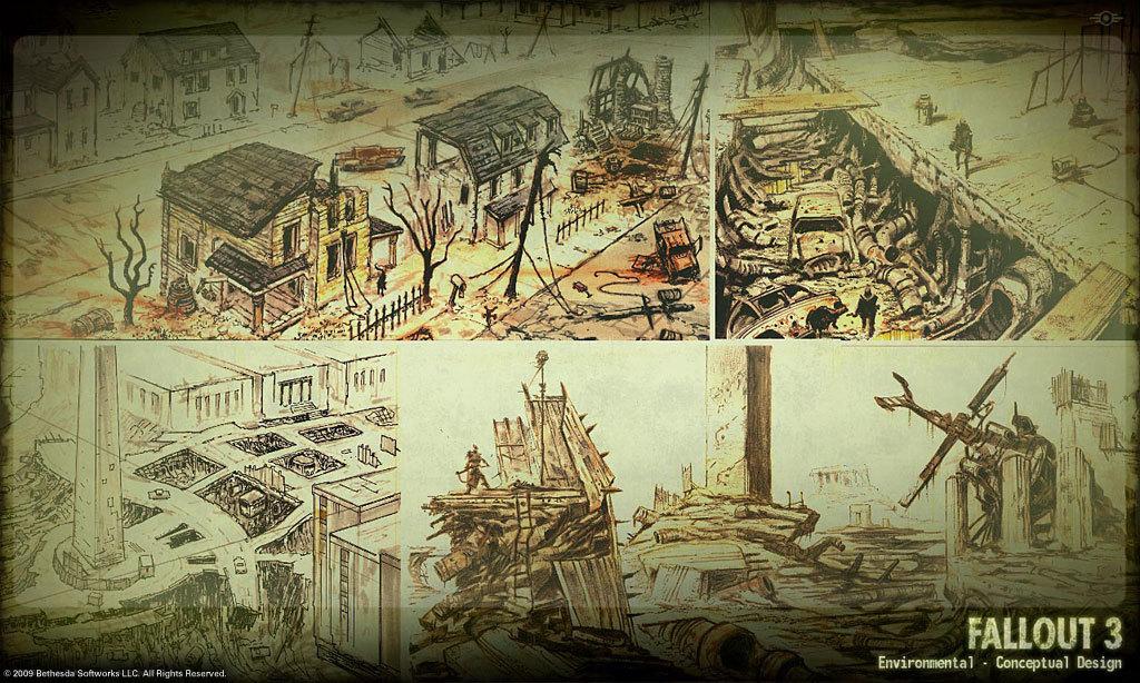 Skyrim And Fallout 3 Conceptual Artist Adam Adamowicz Has