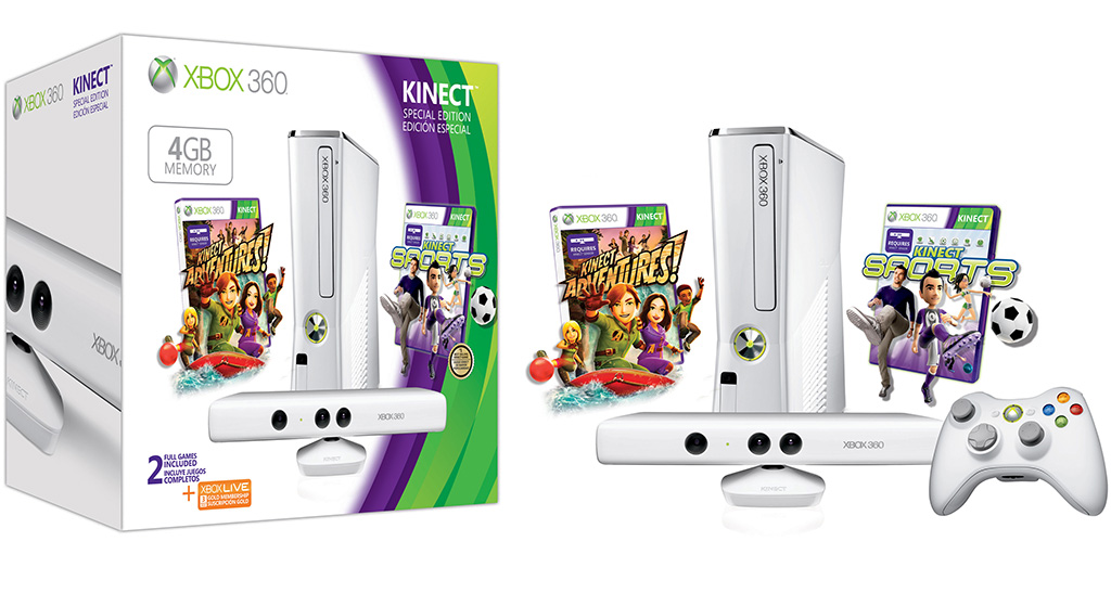 d2e476497 All White Xbox 360 Kinect Starts Shipping | TechPowerUp