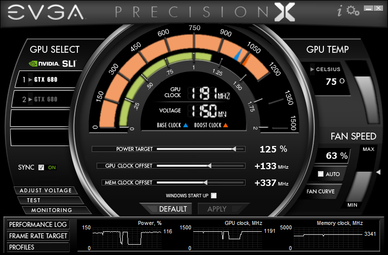 Evga Rolls Out Precision X The Ultimate Geforce