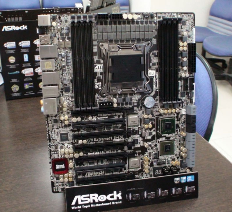 ASRock X79 Extreme11 New Iteration Pictured, Packs Stronger