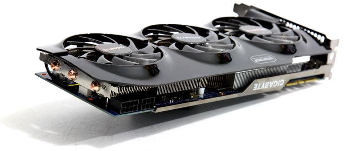 GIGABYTE GeForce GTX 680 WindForce 3X OC Graphics Card Pictured