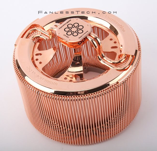 Nofan Unveils All Copper Cr 95c Silent Cpu Heatsink