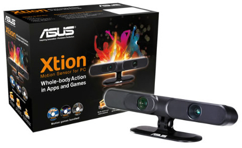 [noticia] ASUS lanza Xtion Motion para PC,alternativa Kinect