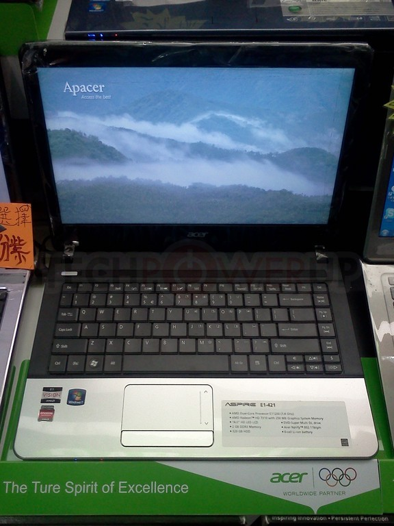 Amd Brazos 2 0 Powered Acer Aspire Pictured Techpowerup