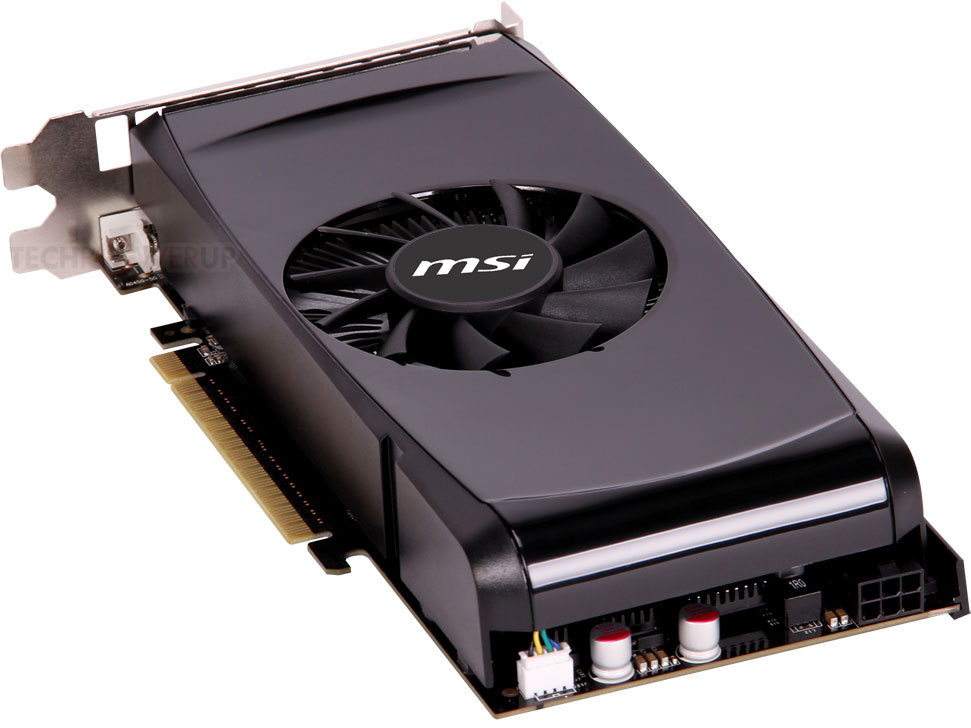 Msi Intros New Cost Effective Geforce Gtx 550 Ti Graphics
