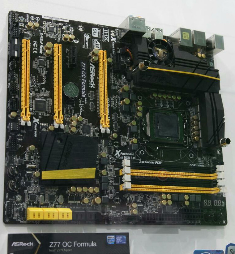 [Computex 2012] ASRock lanza nueva mobo high-end Z77 OC form