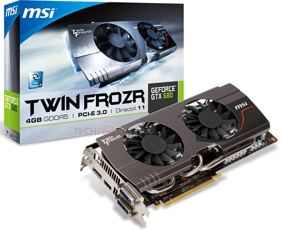 MSI GeForce N570 Twin Frozr III Power Edition OC …
