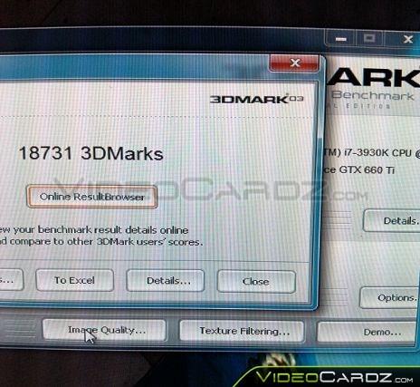 MSI GTX 660-Ti HAWK 3DMark06