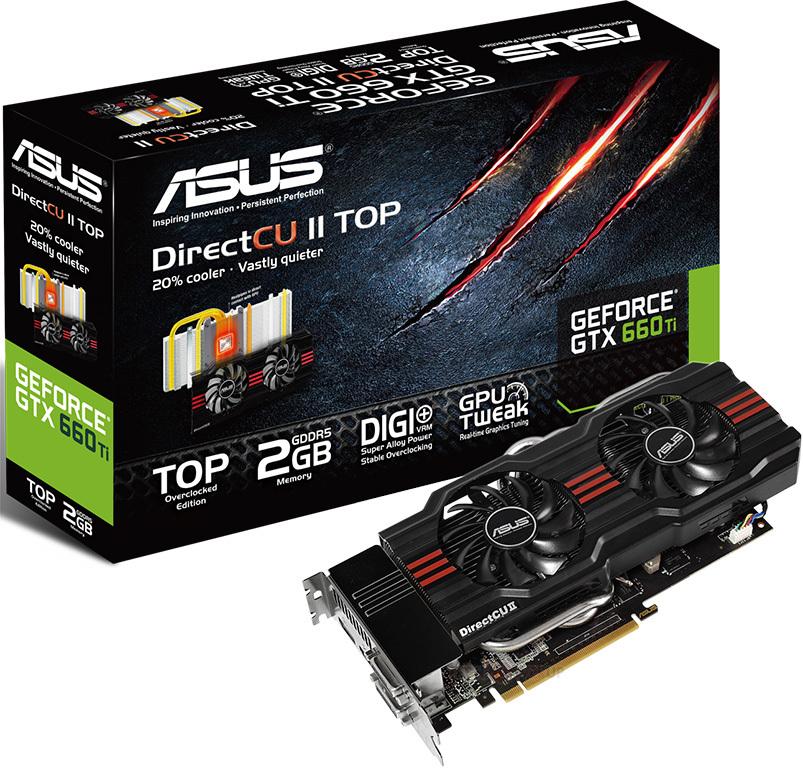 ASUS Updates GTX 660 Ti DirectCU II BIOS, Enhances