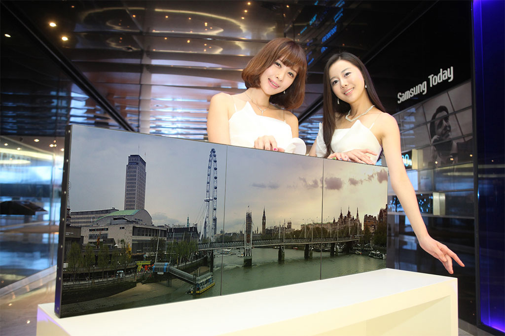 Samsung Electronics Launches LED Square Display and