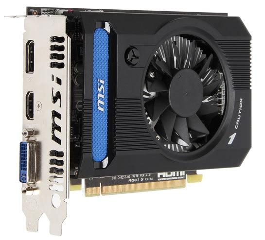 MSI Radeon HD7750 OC V2