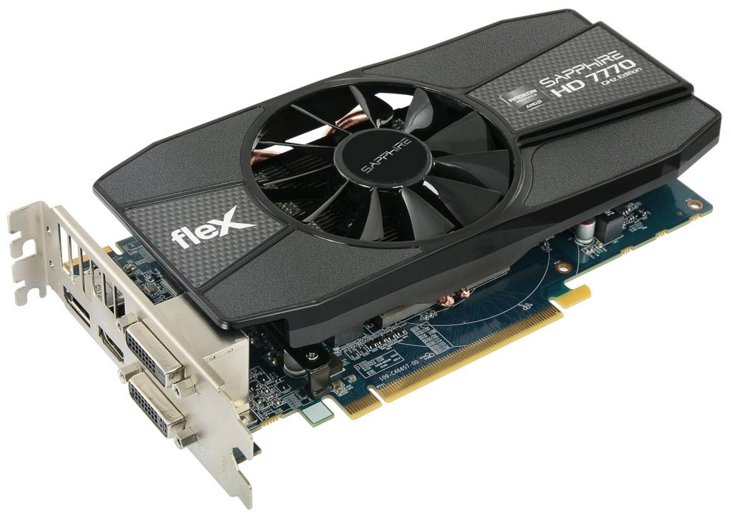 Sapphire Launches The Radeon HD 7770 Flex Edition