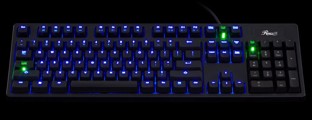 ebda83426c9 Rosewill Debuts the RK-9100 Series Mechanical Gaming Keyboard ...