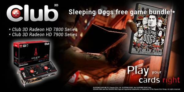 Club 3d Introduces Sleeping Dogs Game Bundle Techpowerup