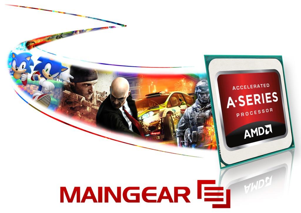 MAINGEAR Adds AMD'S A-Series APU to Desktop Lineup   TechPowerUp