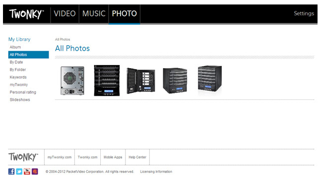 Twonky Media Server 7 Now Available for All Thecus NAS
