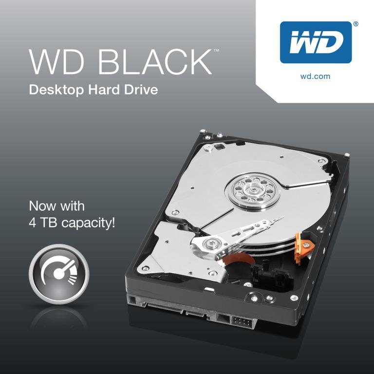 Western Digital Expands Its Highest-Performing Desktop Hard