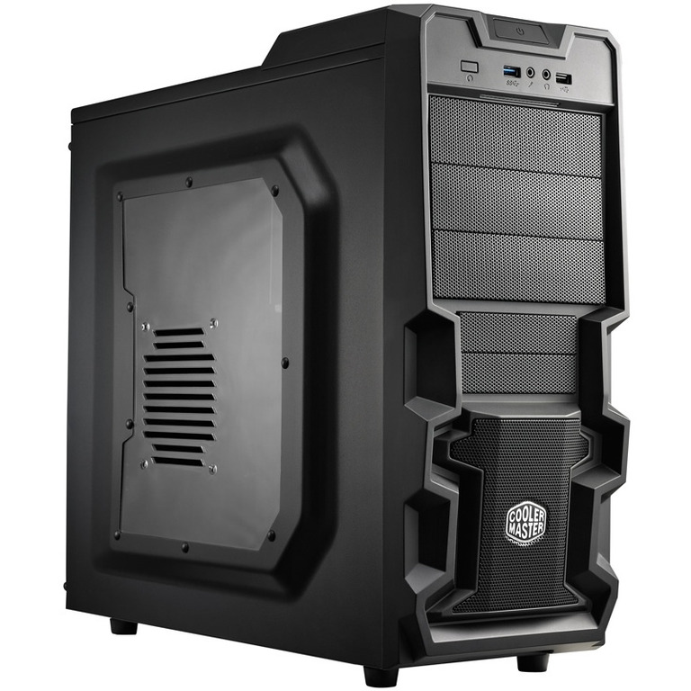 Cooler Master Also Rolls Out K380 Gaming Chassis Techpowerup
