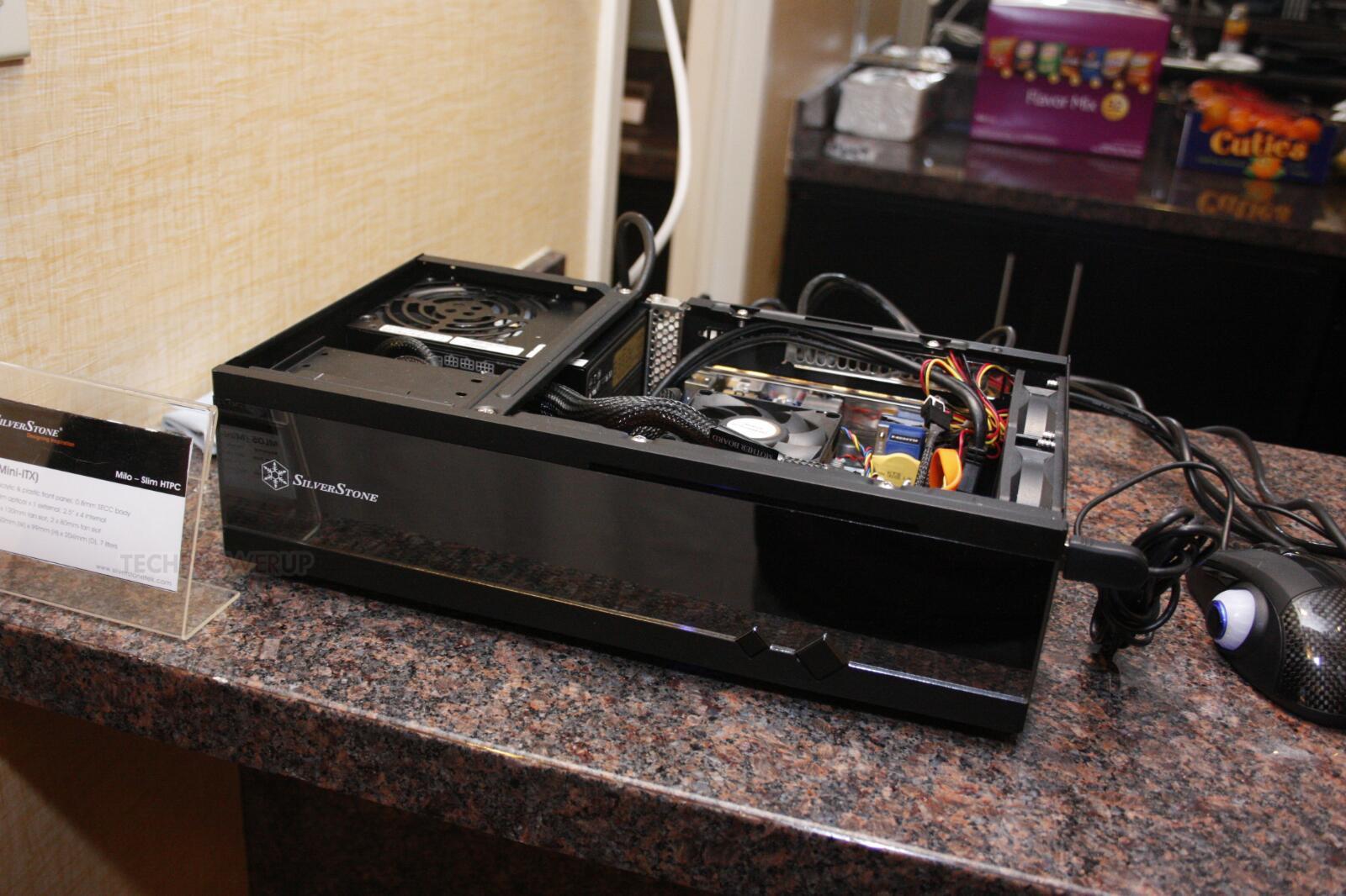Silverstone Milo Ml05 Htpc Case Unveiled Techpowerup