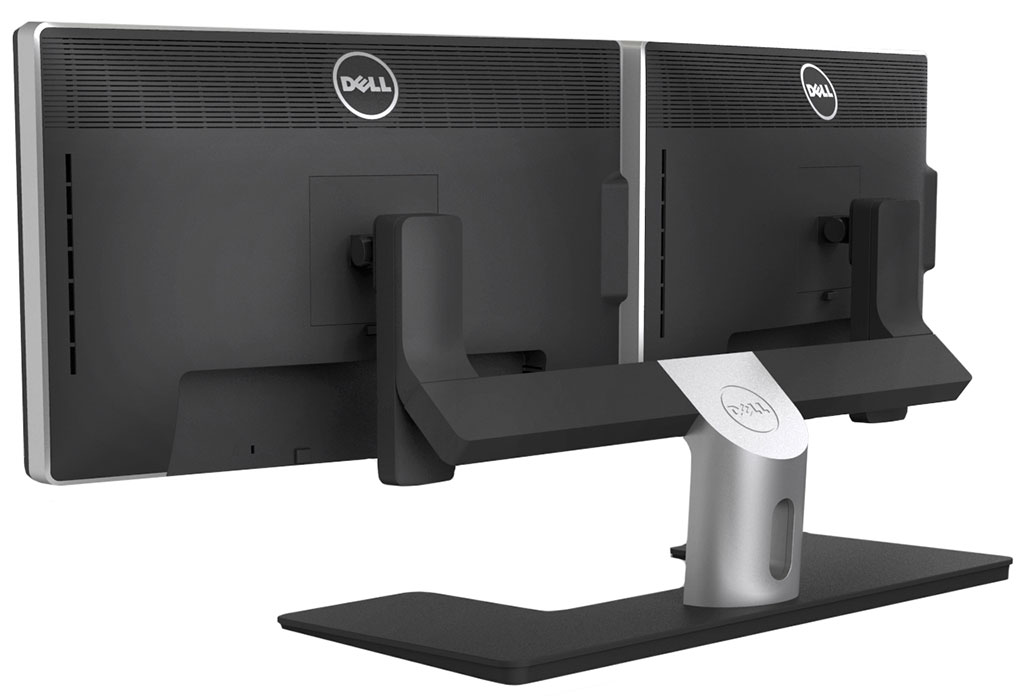 Monitor] 2x Dell Ultrasharp U2412M with MDS14 Dual Monitor Stand $