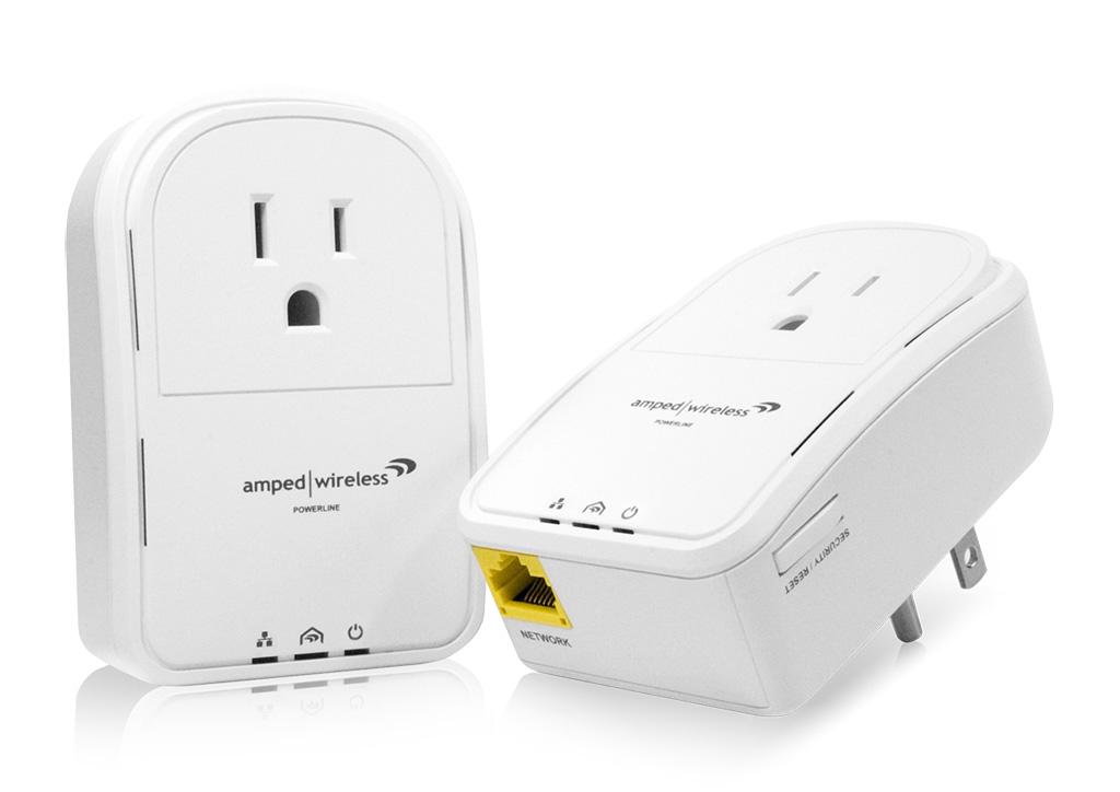 Amped Wireless Introduces Industry\'s Smallest Powerline AV Network ...
