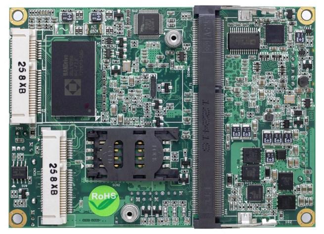 BIS-6621 Intel Dual CORE Atom N2800 Nano-ITX Form Factor FANLESS System