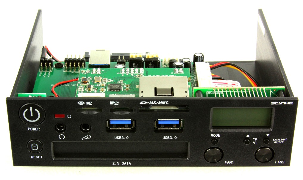 Scythe Introduces The Kama Panel 3 1 Featuring Usb 3 0 And