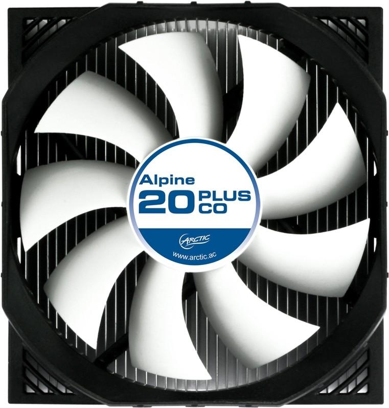 Arctic Announces Alpine 20 Plus Co Cpu Cooler Techpowerup