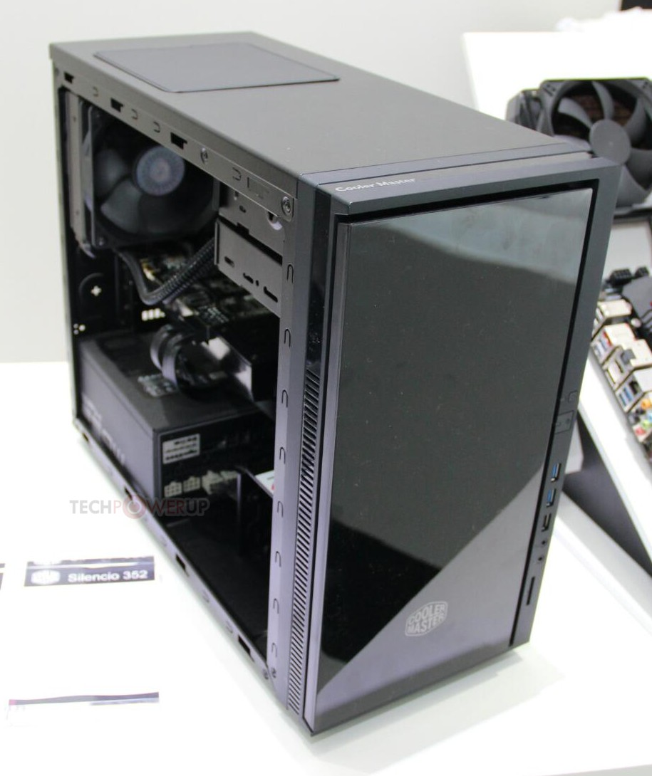 Cooler Master Silencio 352 Pictured Techpowerup