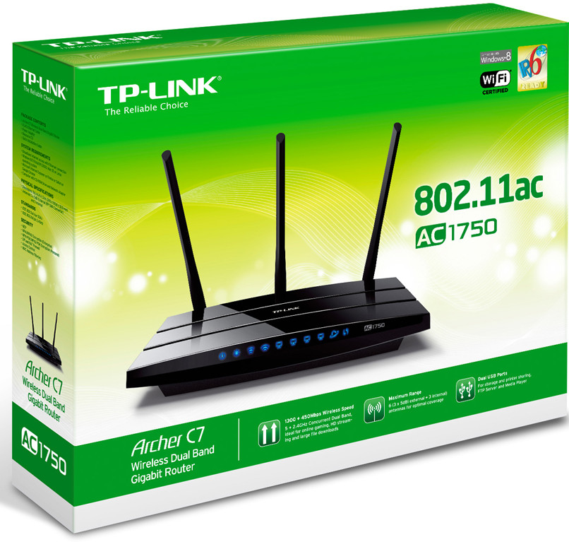 TP-LINK Announces Archer C7 802 11 ac Router for Online