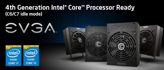 All EVGA Power Supplies Support Core
